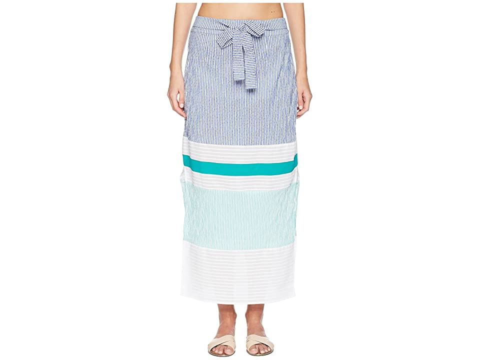 FLAGPOLE Nadine Skirt Cover-Up (Navy/Multi) Women