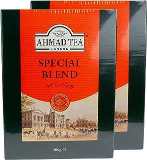 Ahmad Tea - Earl Grey Special Blend Tee lose - Schwarztee im 2er Set á 500 g Packung