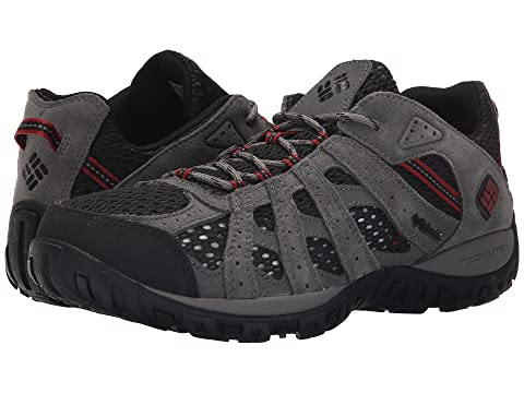 Cheapest Mens Athletic Shoes - Columbia Redmond Breeze Black/Red Dahlia
