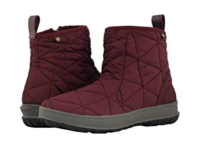 Bogs Snowday Low (Wine) Women