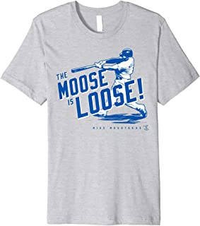 Mike Moustakas The Moose Is Loose T-Shirt - Apparel