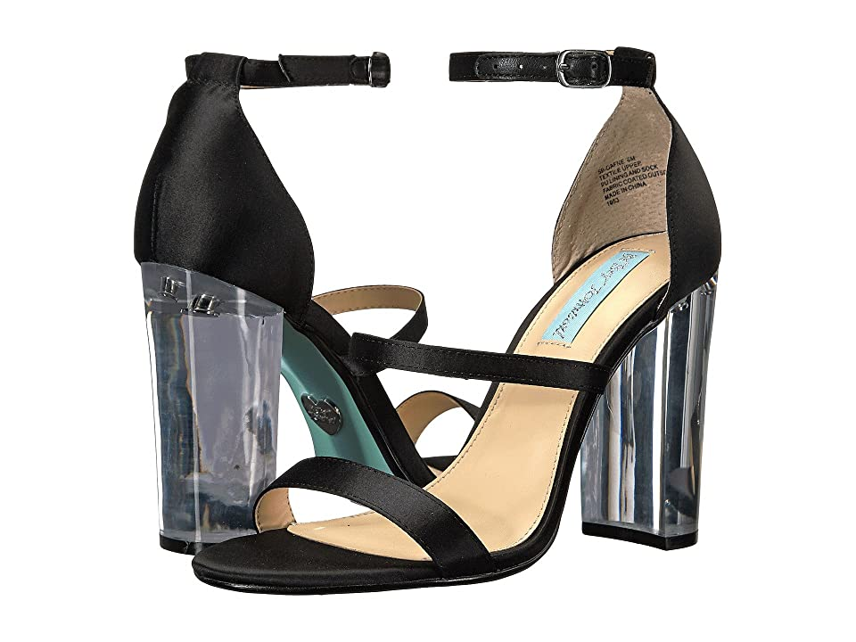 Blue by Betsey Johnson Dafne (Black) High Heels