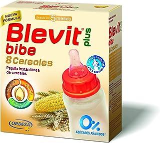Blevit Plus Bibe 8 Cereales - Papilla de Cereales para Bebé fórmula especial para Biberón - Sin Azúcares Añadidos - Desde ...