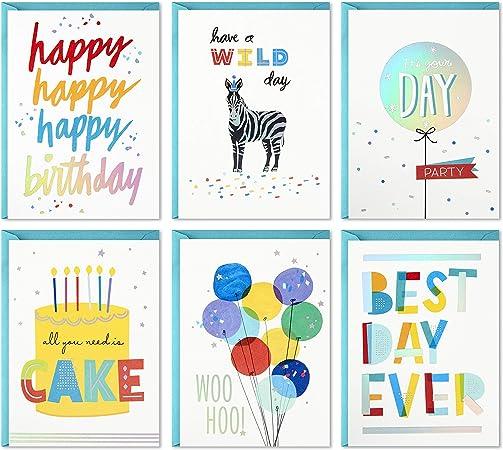 Hallmark Birthday Cards Assortment