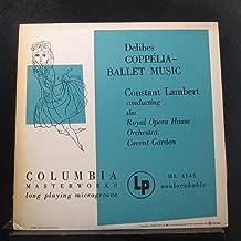 Delibes, Royal Opera House Orchestra, Covent Garden, Constant Lambert - Coppelia - Ballet Music - Lp Vinyl Record