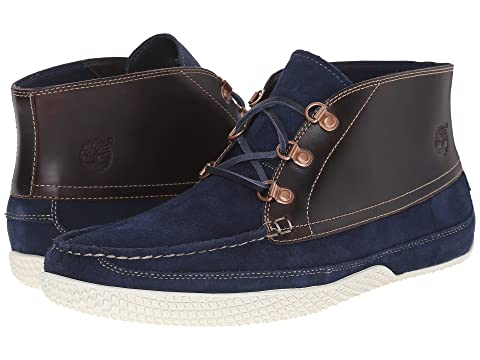 Timberland Camp 73 Chukka Navy Nubuck/Brown Full-Grain Men