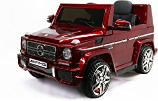 MARTIN RANGER Licensed G65 Mercedes-Benz, Kids Ride on Powered Car 12V &Upgraded Remote Controller, Red