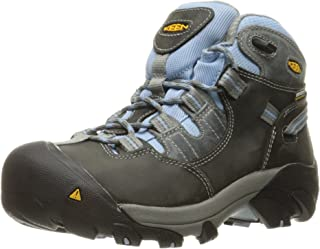 Keen Utility Women's Detroit Mid Soft Toe Industrial and Construction Shoe