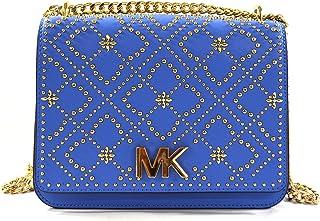 Michael Kors Women's Istanbul Mott Leather Large Chain Shoulder Bag Purse Handbag