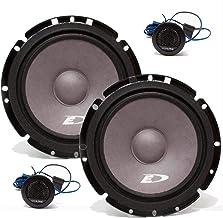 """$44 » Alpine SXE-1751S 6.5"""" 280 Watt Car Audio Component Speakers"""
