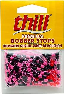 Thill Premium Bobber Stops - Hot Pink - 40