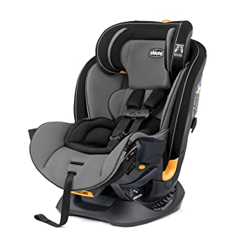 Chicco Fit4 4-in-1 Convertible Car Seat | Easiest All-in-One from Infant to Booster | 10 Years of Use - Onyx: image