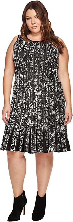 NIC+ZOE - Plus Size Boulevard Twirl Dress
