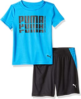 PUMA Toddler Boys' T-Shirt & Short Set