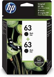 HP 63 | 2 Ink Cartridges | Black | F6U62AN