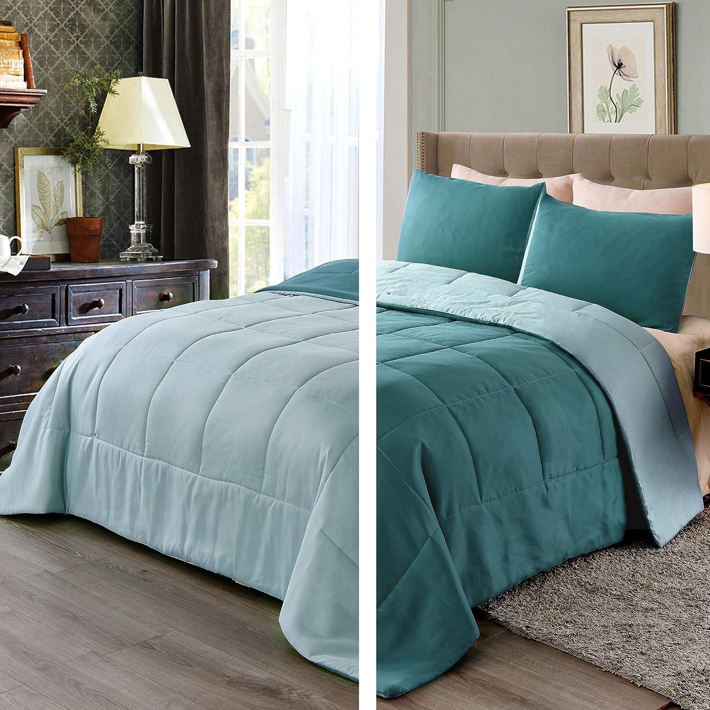 Exclusivo Super sale period limited Mezcla Lightweight Reversible 2-Piece Daily bargain sale Comforter fo Set