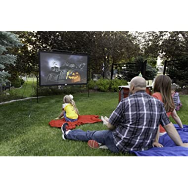 Camp Chef Outdoor Entertainment Gear Outdoor Big Screen 92  Lite Portable Movie Screen