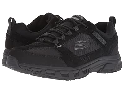SKECHERS Oak Canyon (Black/Black) Men