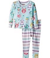 Hatley Kids Cutie Balloonies Long Sleeve Mini Pajama Set (Infant)