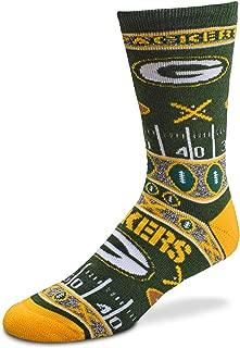 green bay packer socks