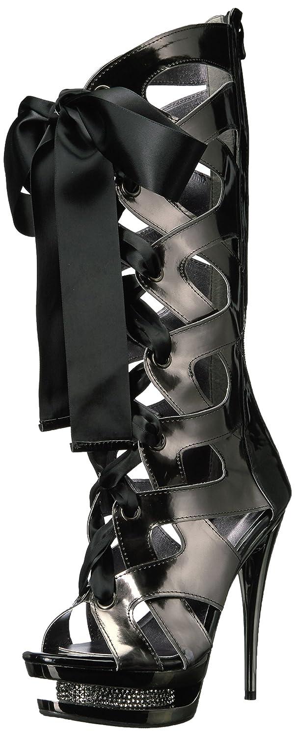 降臨シニス差し引くEllie Shoes Women's 603-Teagan Platform Dress Sandal, Black, 10 US/10 M US