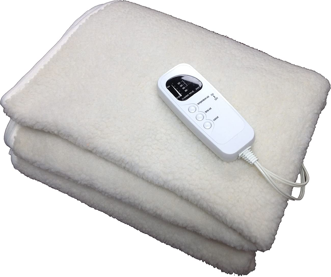 Therapist's Choice? Deluxe Fleece Massage Table Warmer, 12 Foot Power Cord. For Use with Massage Tables Only, Do Not Use as a Bed Blanket Warmer