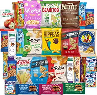 Variety Fun Healthy Snacks Care Package (30 Count)