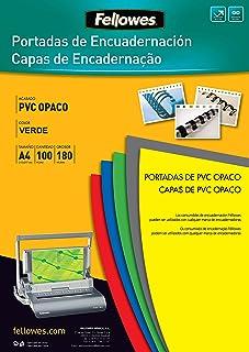 Fellowes 5100601-Couvertures de reliure en PVC opaque A4