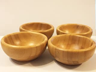 Bamboo Petite Snack Bowls (Set of 4)