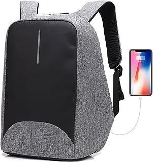 3895b368d7 Sac à dos pour ordinateur portable/GENOLD Sac Antivol pour 15.6 pouces avec  port de