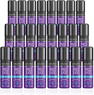 ohn Frieda Frizz Ease Curl Reviver Mousse, 2 Ounces (Pack of 24), Enhances Curls, Soft Flexible Hold, Mousse for Curly or ...