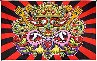 Sunshine Joy 3D Chris Dyer Lord Necio Tapestry Wall Art Beach Sheet Huge 60x90 Inches - Amazing 3D Effects