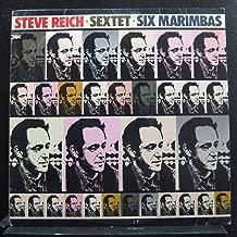 Steve Reich - Sextet - Six Marimbas - Lp Vinyl Record