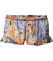 Marciano Kids - Printed Chiffon Shorts w/ Belt (Big Kids)