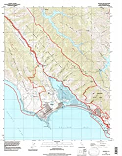 YellowMaps Bolinas CA topo map, 1:24000 Scale, 7.5 X 7.5 Minute, Historical, 1993, Updated 1997, 26.9 x 22 in