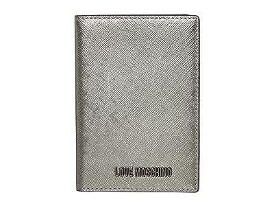 LOVE Moschino Love Wallet (Gun PU) Handbags