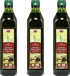 チブギス オーガニック エキストラバージン オリーブオイル【大容量=全部で3リットル】1,000ml ペットボトル X 3本【有機JAS認定・EUオーガニック】CIVGIS Organic Extra Virgin Olive Oil 1,00...