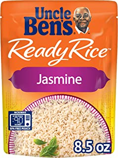 UNCLE BEN'S Ready Rice: Jasmine (12pk, Packaging may vary), 8.5 Ounce (Pack of 12)
