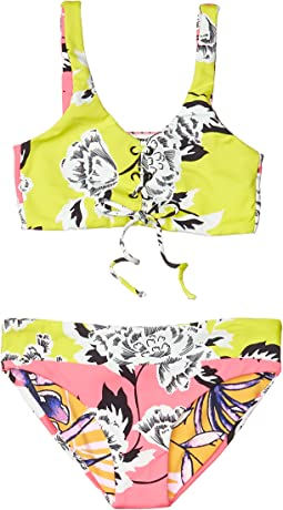 Dazzle Bedazzled Bikini Set (Toddler/Little Kids/Big Kids)