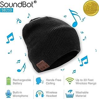 (Renewed) SoundBot SB210 Wireless Winter Beanie Headset