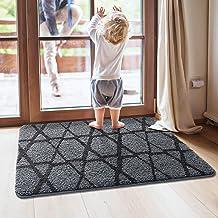 DEXI Original Indoor Doormat, Durable Absorbent Large Door Mats Indoor, 32x48 Machine Washable Low-Profile Inside Door Rug...