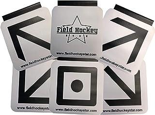 Field Hockey Star Sharp Shooting Training Aid - Goal Targets for Field Hockey and Floorball
