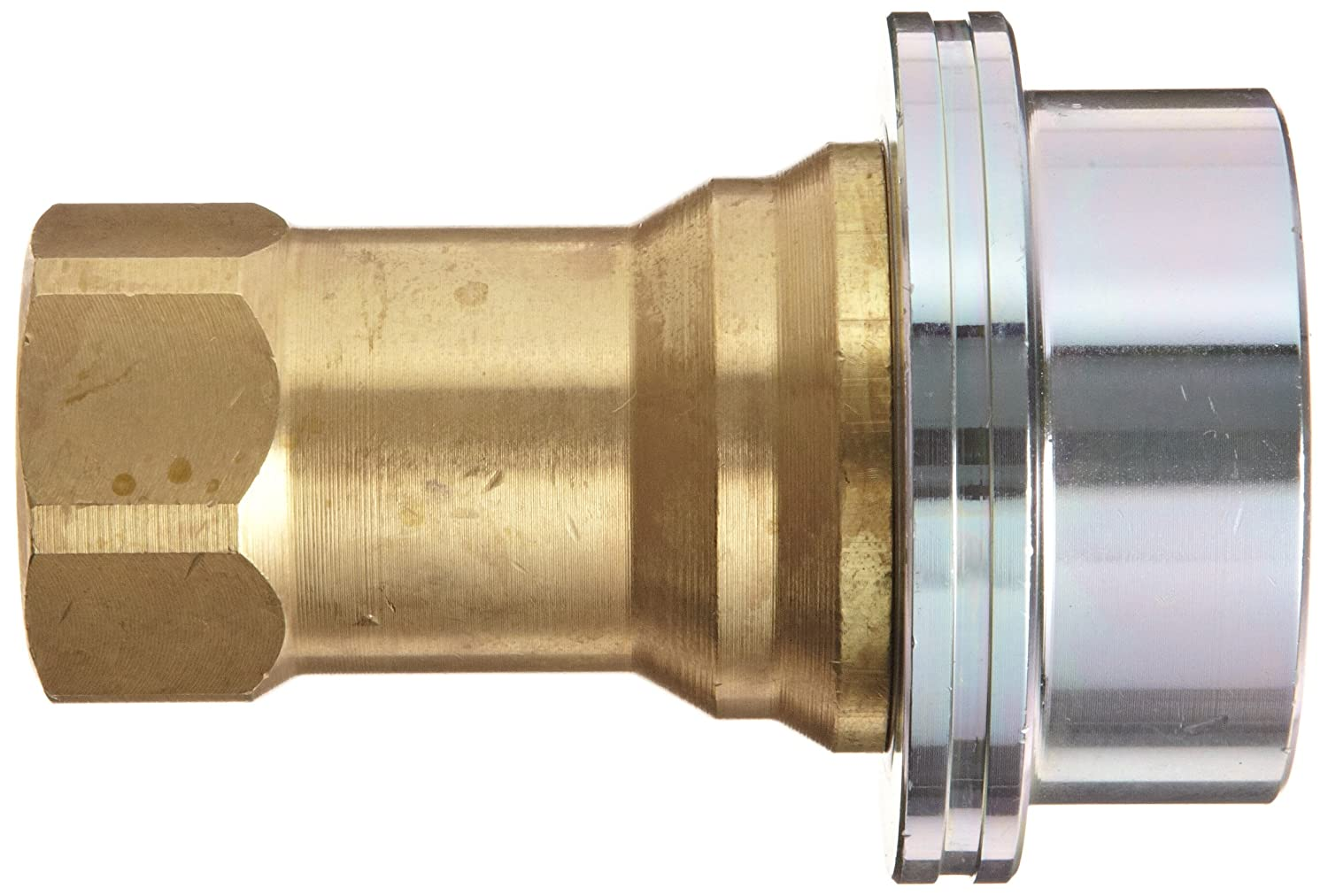Dixon B16-400S Solid Brass Steam Quick Disconnect Boss Fitting Poppet Valve Coupler 1//2 Coupling x 1//2 NPT Female