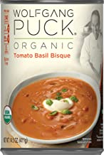 Wolfgang Puck Organic Tomato Basil Bisque, 14.5 oz. Can (Pack of 12)