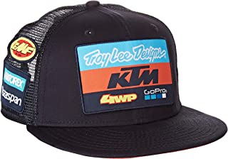 Troy Lee Designs 765740000 Ktm Team - Gorra para niño