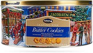 Jacobsens Danish Butter Cookies, 64 Ounce