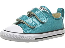 0f82123240fde8 Converse Kids Chuck Taylor All Star 2V Glitter - Ox (Infant Toddler ...