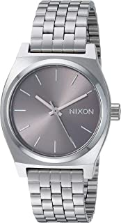 Nixon Medium Time Teller A1130. 100m Water Resistant Women's Watch (31 mm Stainless Steel Watch Face)