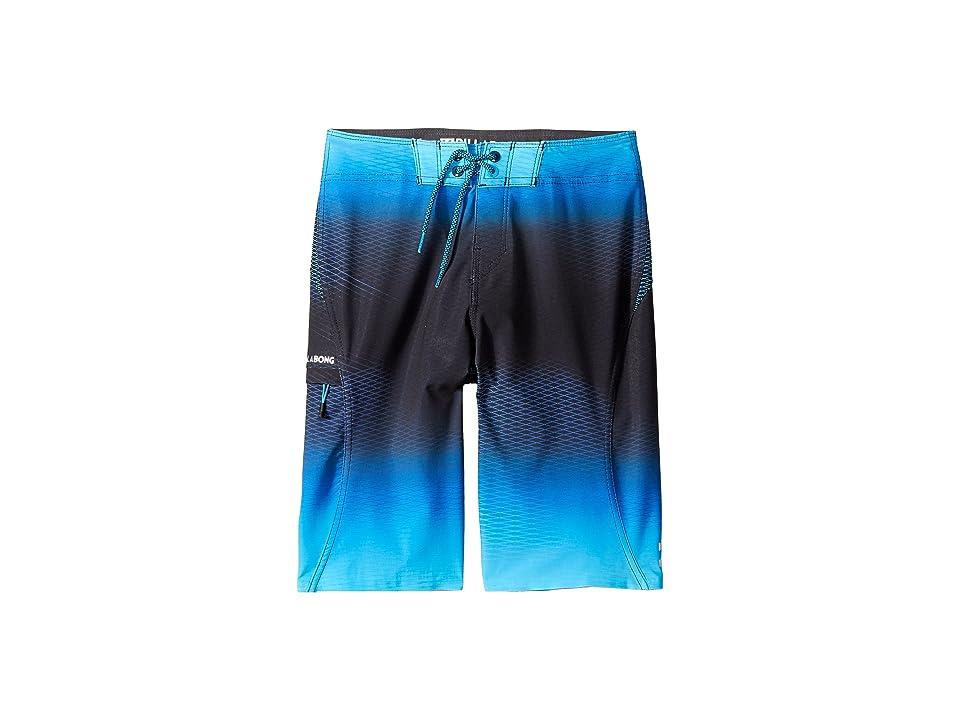 Billabong Kids Fluid X Boardshorts (Big Kids) (Blue) Boy