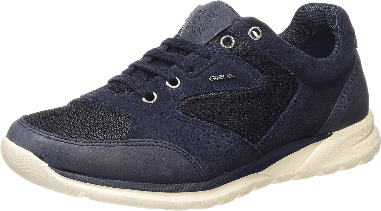 Geox U Damian a, Men's Low-Top Sneakers